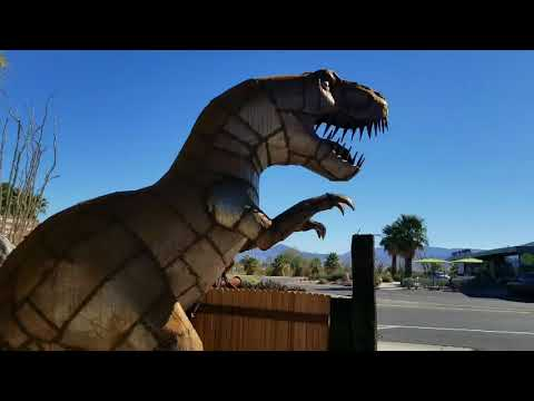 The Metal Sculptures Of Borrego Springs And Keto Dinner - Full Time Van Life