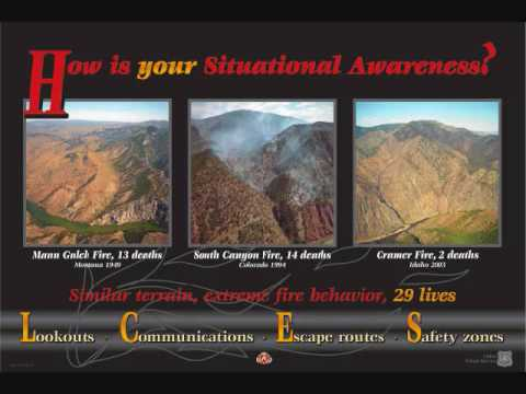 Wildland Firefighter Safety Situational Awareness