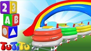 TuTiTu Englisch Lernen | Farben lernen auf Englisch für Kinder | Achterbahn