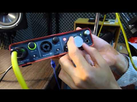Focusrite Scarlett 2i2 review - Audio Mentor