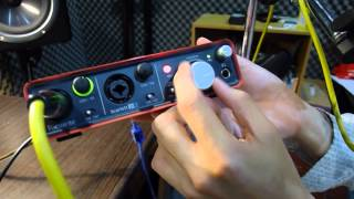 focusrite scarlett 2i2 review audio mentor