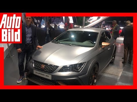 Seat Leon Cupra R (IAA 2017) Review/Details/Erklärung