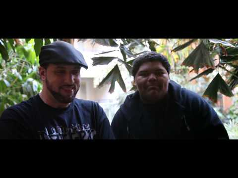 17 year old A-F-R-O does an off-the-head freestyle for R.A the Rugged Man