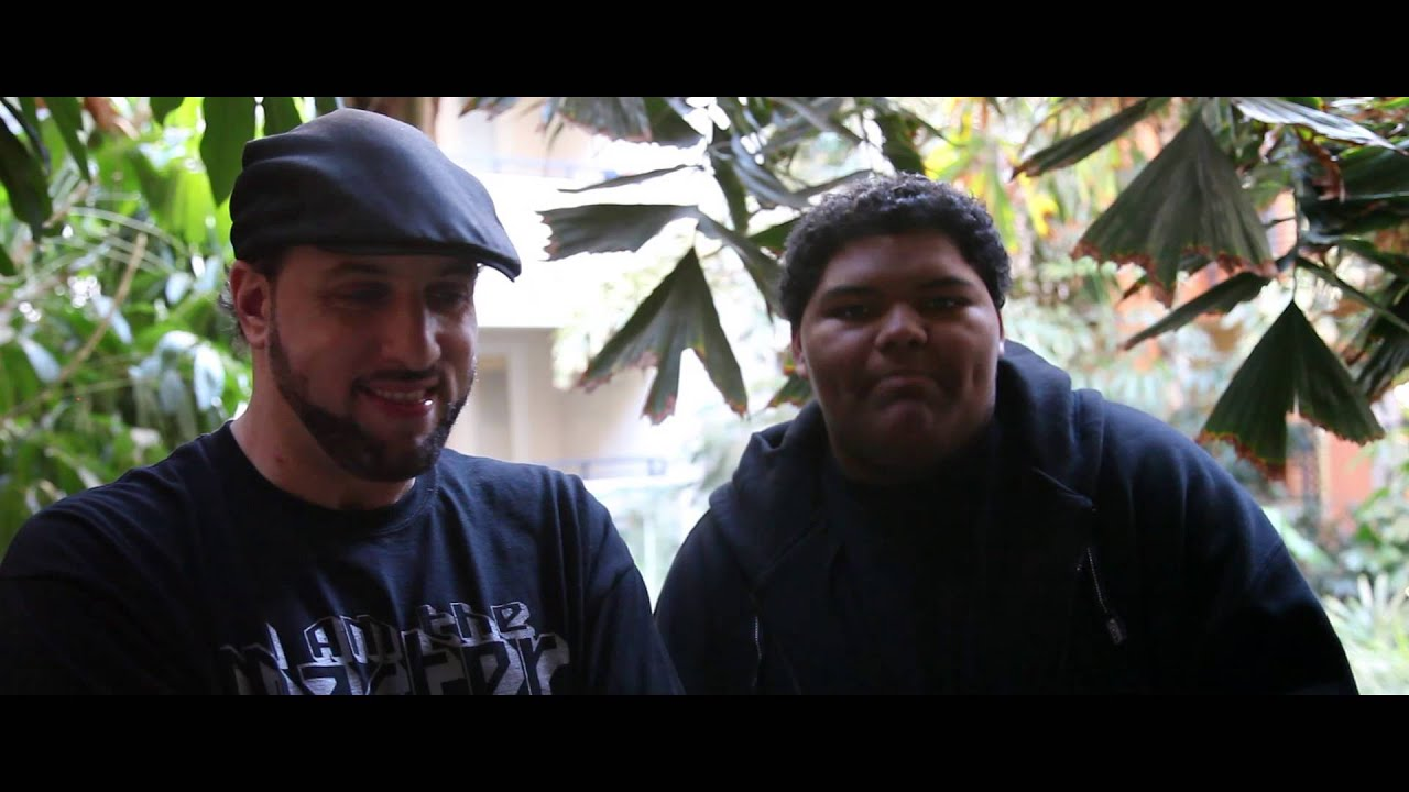 17 Year Old A F R O Does An Off The Head Freestyle For Rugged Man You