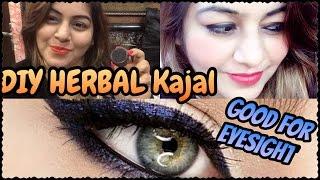 DIY Herbal Natural Kajal & Kohl | How to make Kajal & Kohl at Home | JSuper Kaur