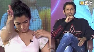 Nithiin andamp; Rashmika Mandanna Valentineand#39;s Day Special Interview About Bheeshma Movie