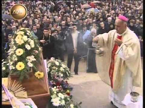 Beerdigung von Pater Slavko Barbaric in Medjugorje