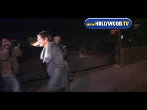 Lukas Haas Enters Villa.