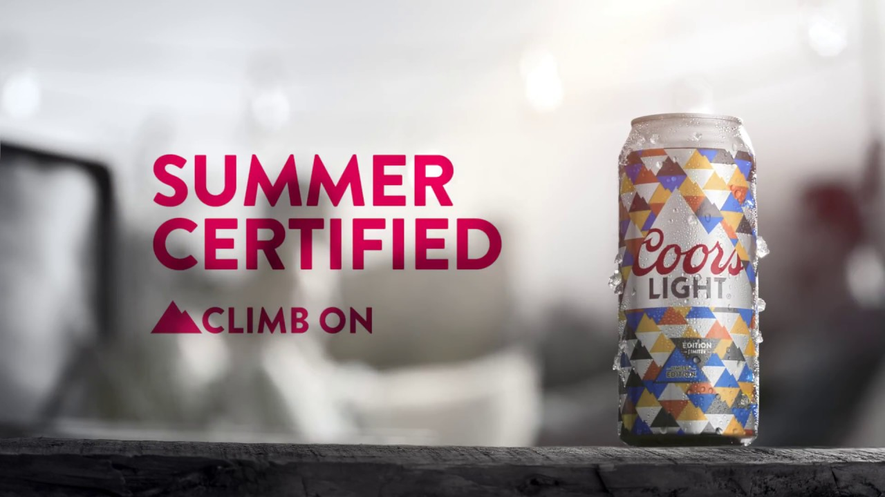 Sun-Activated Summer Cans | Coors Light Canada