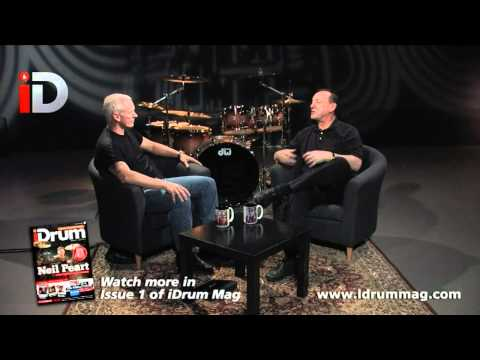 Neil Peart (Rush) Interview With Jamie Borden For iDrum Magazine