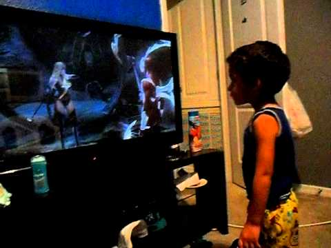 3 year old playing video games YouTube