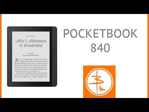 PocketBook 840 - обзор большой книжки на e-ink