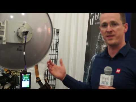 NATEUnite2014: SAF Tehnika demo of its compact microwave spectrum analyzer