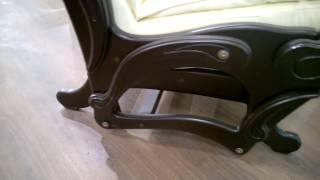 Кресло-качалка глайдер Модель 78 экокожа в магазине