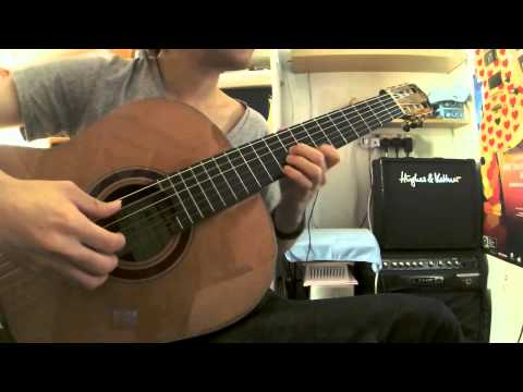 X-japan - Forever Love [Guitar Solo Instruments] by Sing Tam 譚煒星