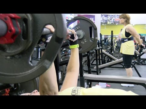 Growing Older: Women train for Delaware Senior Olympics' Weight Lifting Competition