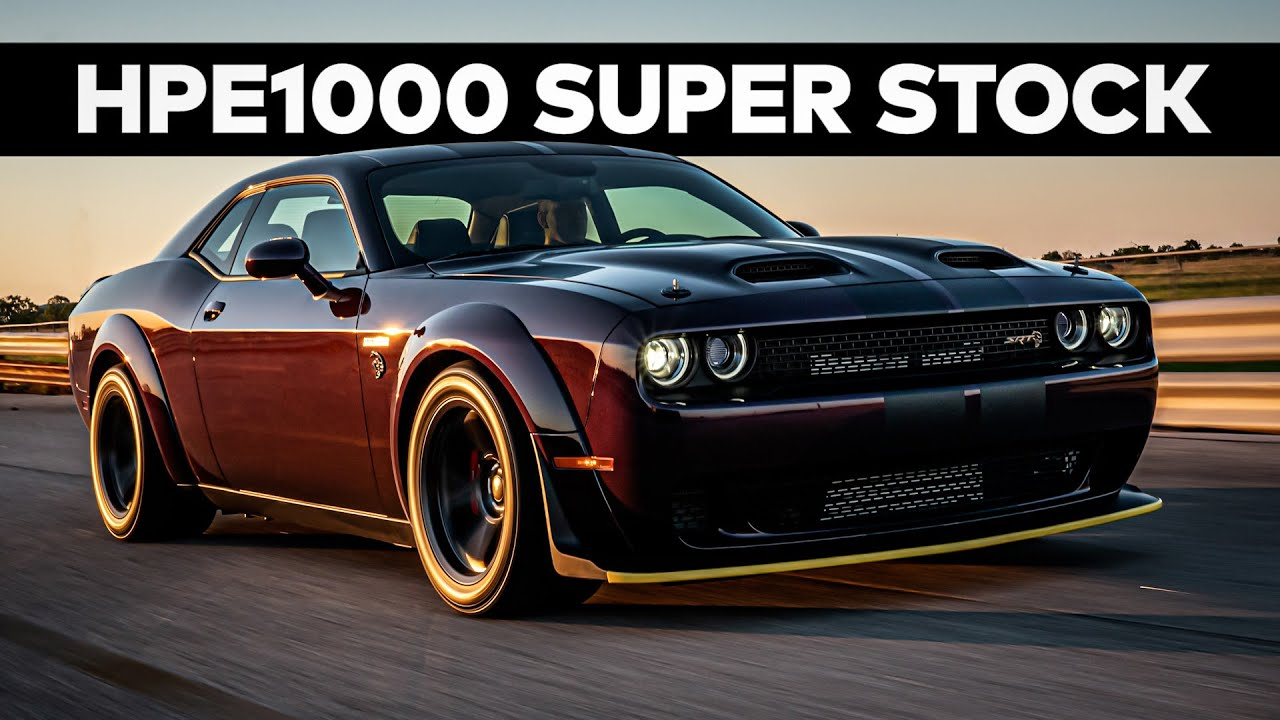HPE1000 2021 Super Stock by Hennessey // Test Drive and Chassis Dyno!