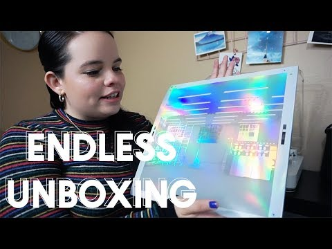 ENDLESS FRANK OCEAN MERCH UNBOXING - VINYL, CD, VHS, & POSTERS!