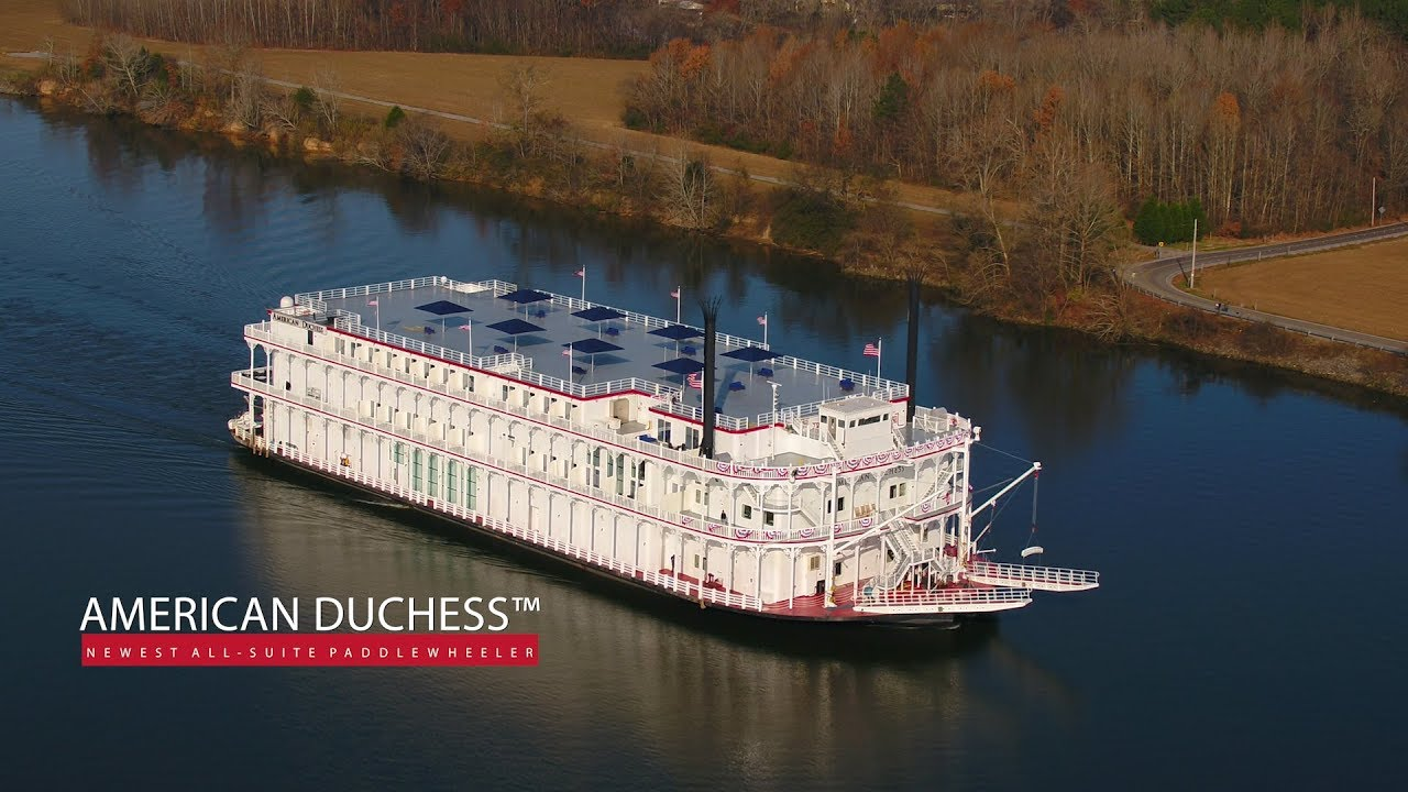 The American Duchess USA River Cruise YouTube - Usa river cruises