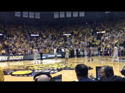 WSU guard Tekele Cotton's final game at Koch Arena
