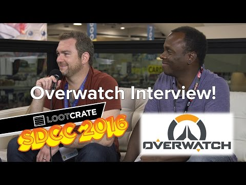 SDCC 2016 : Overwatch interview with James Waugh and Robert Simpson