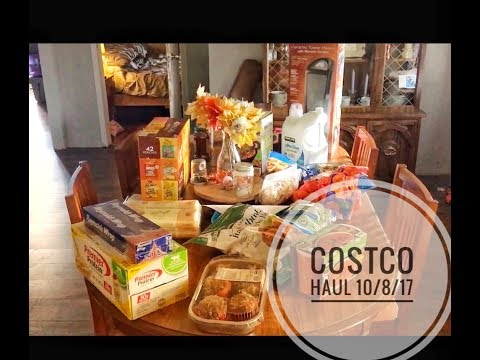 WEEKEND COSTCO HAUL | Garland Life Vlogs