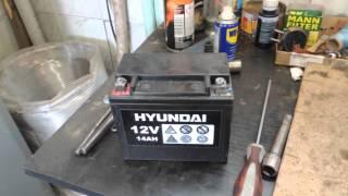 видео Аккумулятор для бензогенератора