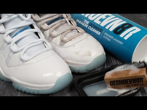 How to clean dirty Jordan Legend Blue 11s