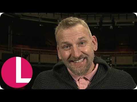 Christopher Eccleston Leaves Christine in Stitches After Hilarious   Lorraine