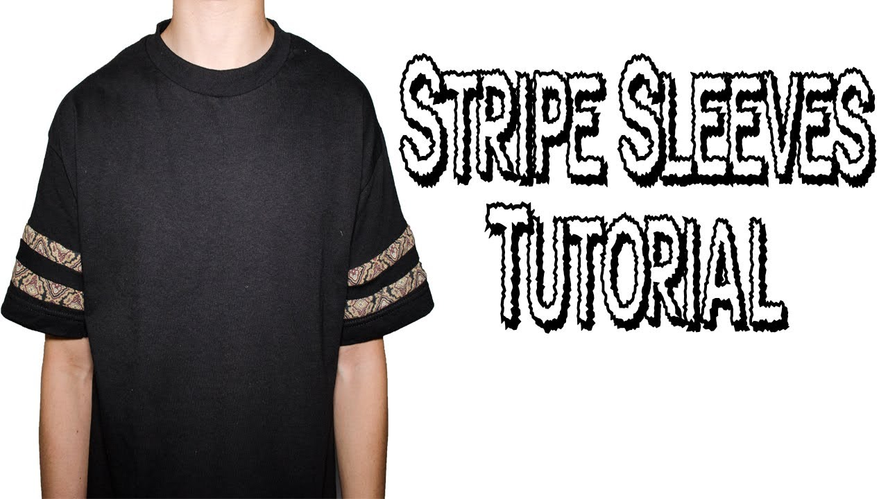 DIY  Stripe Sleeves Tutorial  3c3a9d7fa