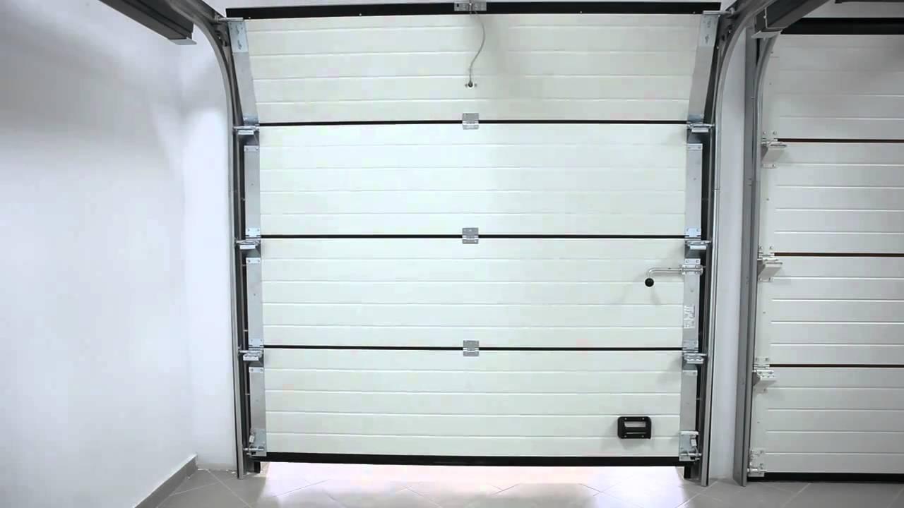 01 puerta seccional benefit mca youtube - Precio puertas de garaje ...