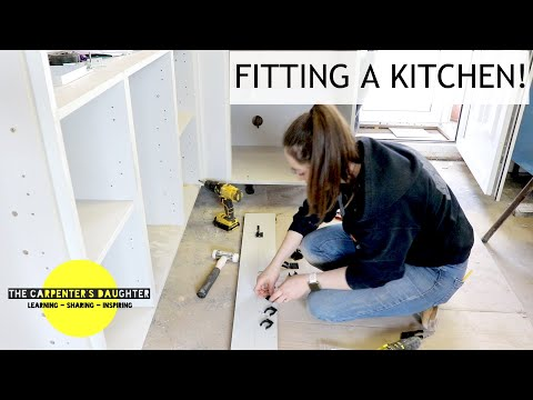 Fitting a New Kitchen in the Bungalow | The Carpenter's Daughter