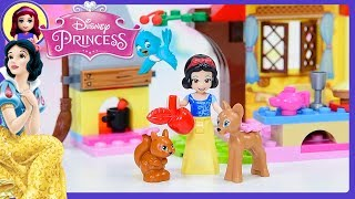 Download lagu Snow White s Forest Cottage Lego Disney Princess Junior Set Build Review Silly Play Kids Toys MP3