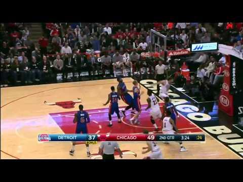 Detroit Pistons vs Chicago Bulls | November 10, 2014 | NBA 2014-15 Season