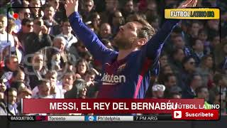 Video This is how Leo Messi Celebrate his goal vs Real Madrid download MP3, 3GP, MP4, WEBM, AVI, FLV Juli 2018