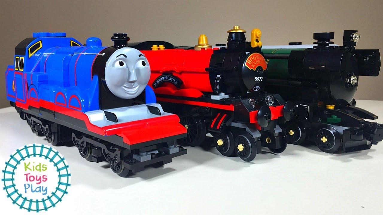 Lego Train Speed Build Compilation