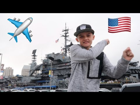 Touring the USS Midway Aircraft Carrier