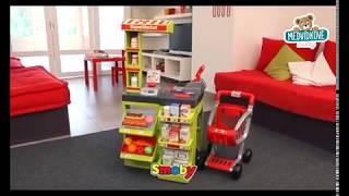 Dětský obchůdek SuperMarket Smoby s nákupním košík