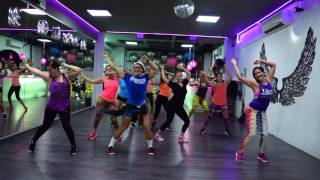 Perro Fiel - Shakira ft Nicky Jam by Cesar James / Zumba Cardio Extremo Cancun