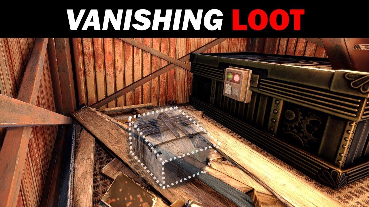 Vanishing Loot Room (Unlootable Loot) – RUST Building Guides