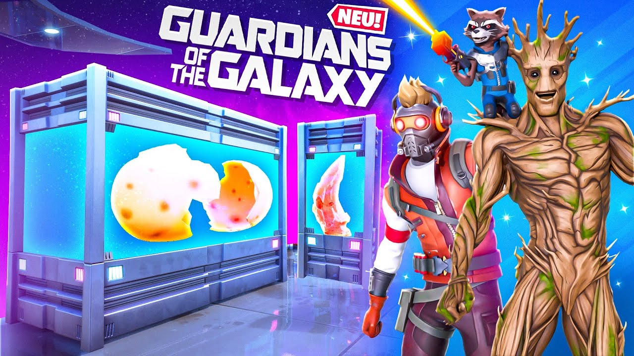 *NEU* GUARDIANS OF THE GALAXY in Fortnite ??