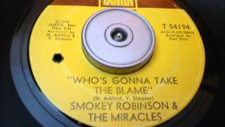 Smokey Robinson & Miracles   Who