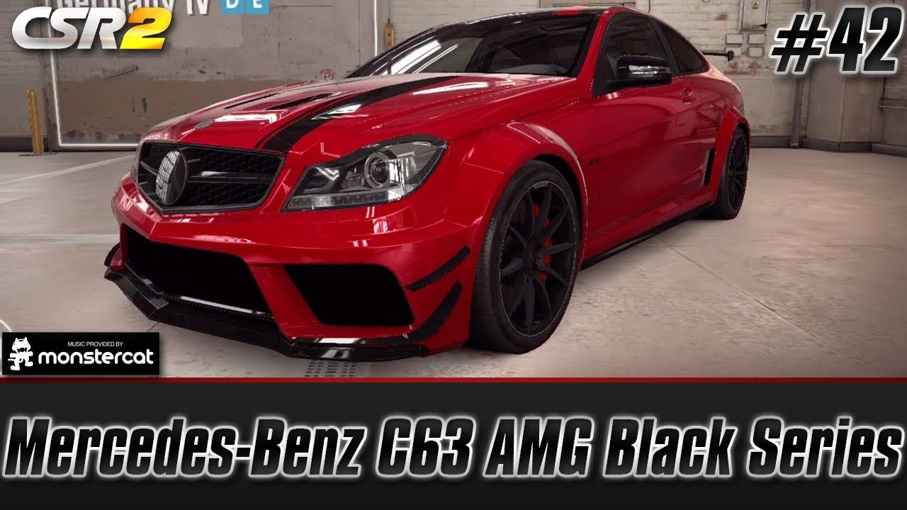 01d465d8b71883 CSR Racing 2  Mercedes-Benz C63 AMG Black Series (HOW TO GET IT + Tuning +  Live Lobby)  EP.  42