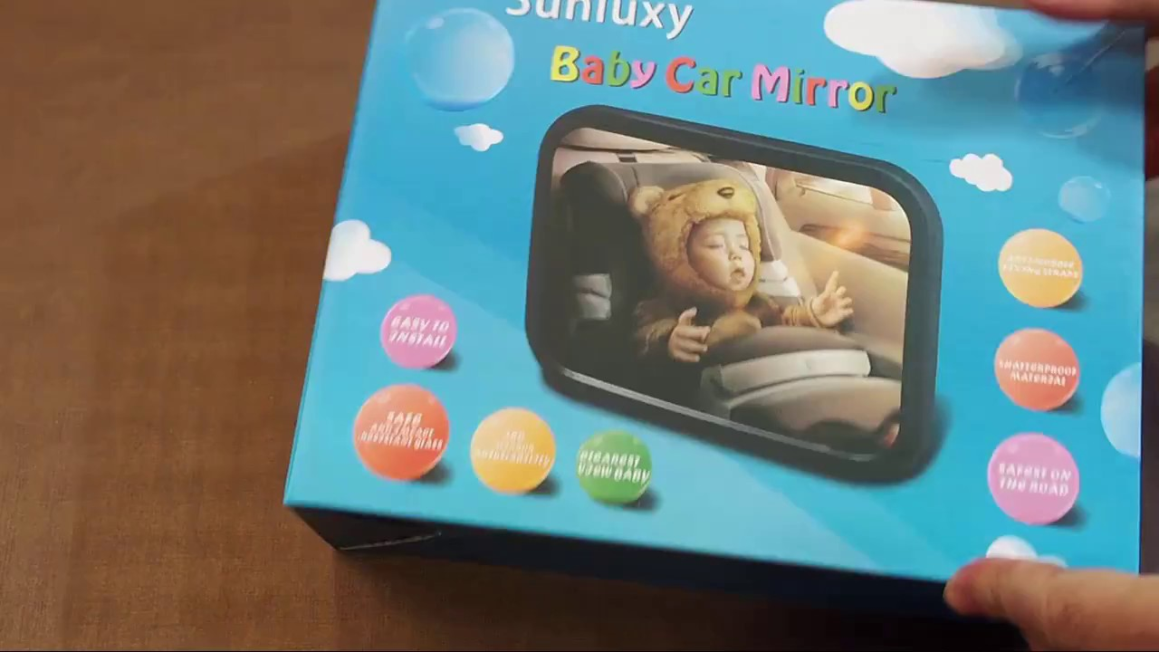 Espejo Retrovisor Sunluxy Para Controlar Al Bebe