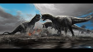Roblox (Era Of Terror) Carnotaurus life
