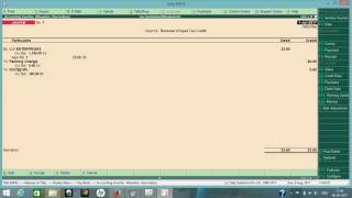 DEBIT AND CREDIT NOTE PART2 UPDATE OF TAX DIFF ENTRY IN TALLY FOR GST