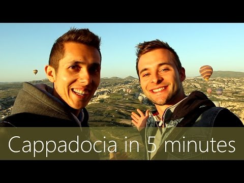 Cappadocia in 5 minutes | Travel Guide | Must-sees for your trip