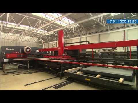 видео: Процесс производства контейнеров containex