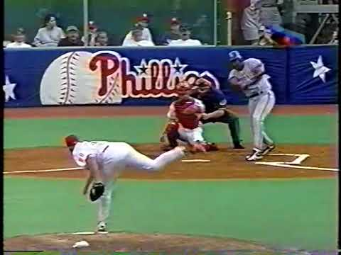 1997 Phillies vs Toronto   Woody Williams vs Curt Schilling