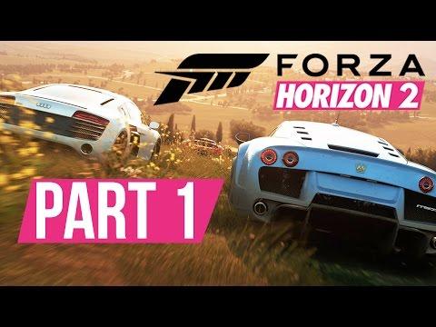 Forza Horizon 2 Gameplay Walkthrough Part 1 - PICKING MY FIRST CAR - Xbox Gameplay